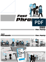 Fast Phrasals Comic - The Party