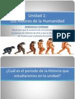 PPT - Los albores de la humanidad (diapo n°25)