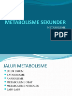 METABOLISME SEKUNDER S1