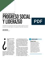 Progreso social y liderazgo