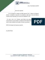 Carta de Lujan de Trabajos Britanico