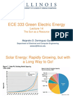 Solar Energy Lecturer