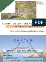 Presentation forcad