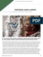 ARTEVERSA. as Mãos de Ouro de Sonia Gomes Costura e Memória