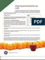 GE. LED 10 Preguntas Para Hacerle a Su Proveedor LED Spanish0001