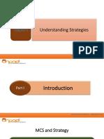 Chapter 2 - Understanding Strategies