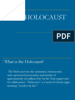 holocaust notes