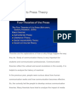 Basic Philosophy of Free Press