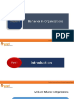 Chapter 3 - Behavior in Organizations