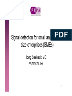 JS Signal Detection PIPA for Small to Medium Organizations