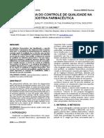 A Importância Do Controle de Qualidade Na Industria Farmacêutica