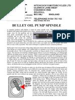 Oil Pump Spindle