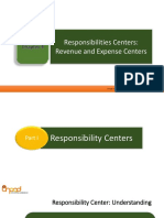 Chapter 4 - Revenue and Expense Centers