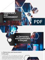 Democracy and Government