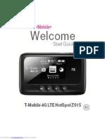 Manual T Mobile 4G ZTE Z915