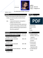 Professional Resume Format (4)