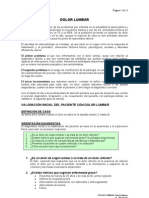 Protocolo Dolor Lumbar