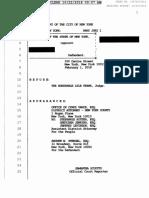 Stengel v. Vance, et al. Article 78, Minutes of Disclosure of the List