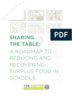 sharing the table a roadmap to reducing and recovering surplus food in k12 schools