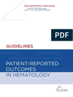Guidelines Patient-reported Outcomes in Hematology - European ( PDFDrive.com )