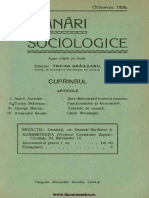 Insemnari Sociologice anul II, nr. 7, octombrie 1936
