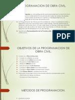 Programacion de Obra Civil