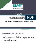 Seman 10 Comisionistas Derecho Mercantil. (1)