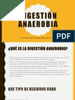 DIGESTIÓN ANAEROBIA