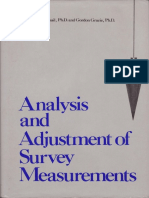 Analysis and Adjustment of Survey Measurements_Mikhail & Gracie