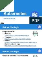 Introduction to Kubernetes.pdf