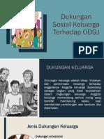 Kelompok 6 RJD Dukungan Sosial Keluarga - PPT