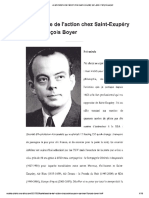 La Philosophie de l'Action Chez Saint-Exupery-François Boyer