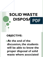 Solid Waste Disposal