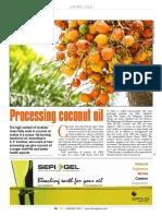 Coconut Oil Processing