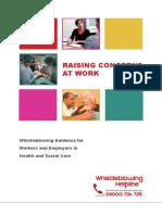 Raising Concerns at Work