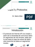 Capa 3 y Protocolos