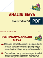 Minggu 7 - Analisis Biaya