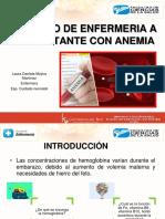 1. Cuidados de Enfermería a La Gestante Con Anemia