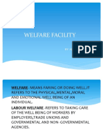 Welfare Facility