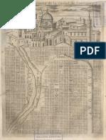 Mapa del Santiago Colonial