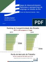 Apresentação do Gerente de Estudos Econômicos da Firjan, Jonathas Goulart