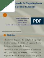 Apresentação da Pesquisadora do Instituto de Economia da UFRJ, Renata La Rovere