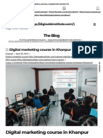 Digital Marketing Course in Khanpur