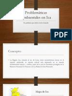 Problemáticas Ambientales en Ica