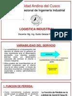 Variabilidad Del Servicio Logístico ,Kk