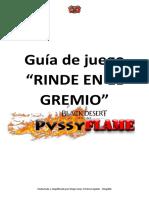 Rinde en El Gremio - Bdo Pvssyflame