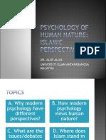 WEEK 15 Psychology of Human Nature