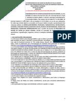 Edital Policlinica Paulo Afonso 001 2019