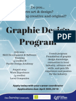 graphic design program 2019 poster