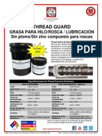 Thread Guard Flyer - Spanish